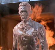 T-1000 flames