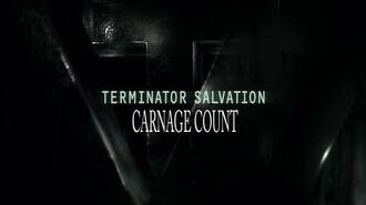 Terminator Salvation (2009) Carnage Count