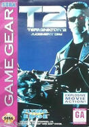 Terminator 2 Game Gear front