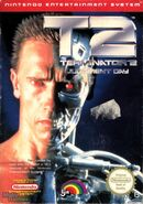 Terminator 2 NES front