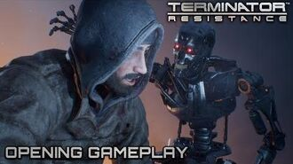 Terminator Resistance - Opening Gameplay NA