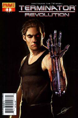 Terminator Revolution 1 cover