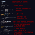 Rampage weapons list.png