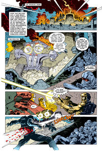 The terminator comic T