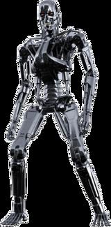 Terminator freigestellt