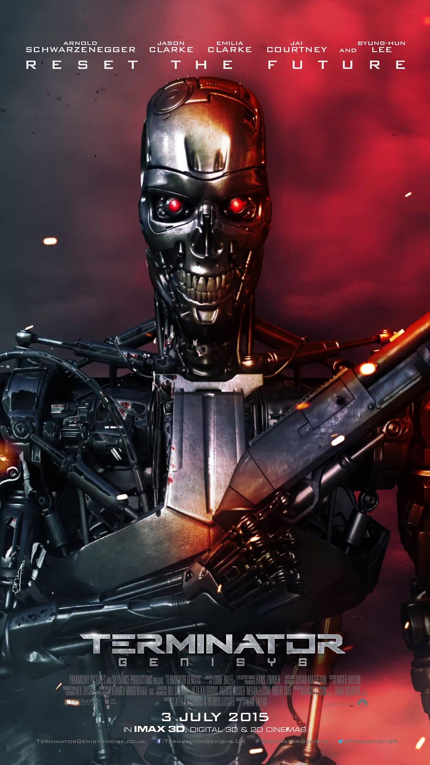 Terminator Genisys Poster 1500x2667 T800
