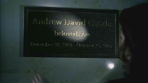 SCC Andy Goode gravesite