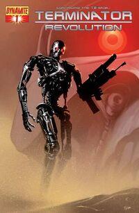 Terminator Revolution 1 cover variant