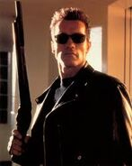 T800 with M1887 Winchester