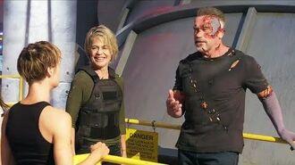 The Making of 'Terminator Dark Fate' Behind The Scenes