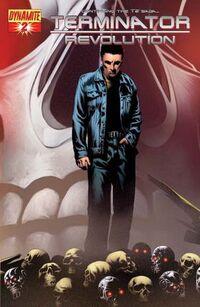 Terminator Revolution 2 cover variant