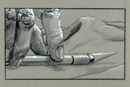 T1-art-storyboard-ofT-1 picking the knife