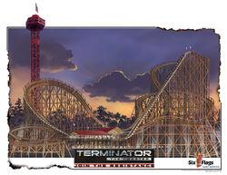 Terminator the coaster