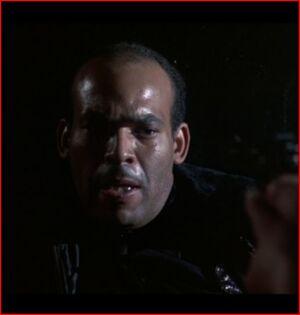 Cop in Alley