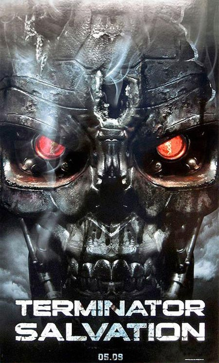 Terminator salvation film terminator wiki fandom powered by wikia terminator salvation official poster earlier version thecheapjerseys Image collections