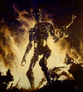 T-800 with the m-14