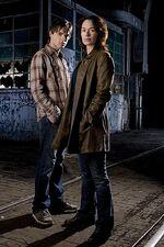 S1 photoshoot Sarah and John