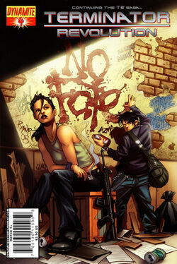 Terminator Revolution 4 cover