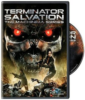 Terminator Salvation The Machinima Series DVD