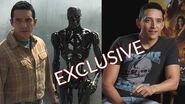 Exclusive Terminator Dark Fate's Gabriel Luna Talks Rev 9 New Terminator Abilities