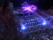 Modified Humvee