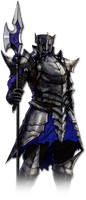 Azure Soldier (Spear)