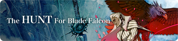 The Hunt For Blade Falcon banner
