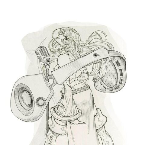 Eileen (Job 3) concept art