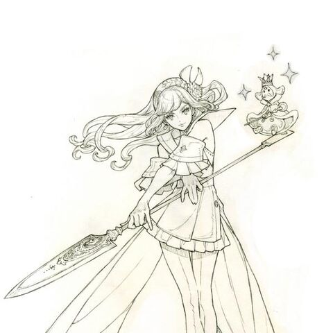 Samatha (Job 1) Concept Art
