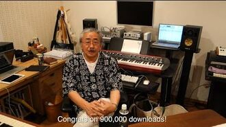 Terra Battle Download Starter 900,000 Downloads Message from Nobuo Uematsu