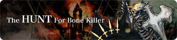 The Hunt For Bone Killer banner