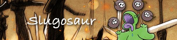 Slugosaur Kino Strikes Back banner