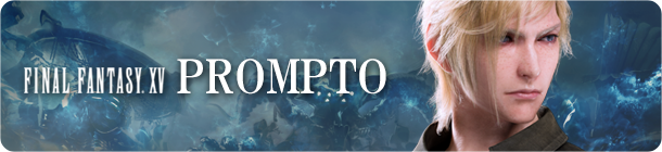 Final Fantasy XV Prompto banner