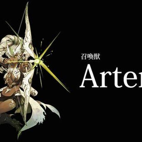 Artemis' Japanese Promotional Image