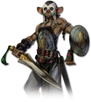 Beastfolk Warrior