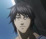Akari's face