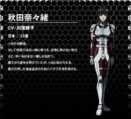 Nanao Akita OVA design