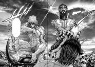 Shokichi saved by Joseph and Liu