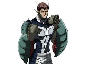 Keiji anime transformation artwork