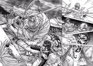 Joseph vs. Shokichi, Sylvester and Liu