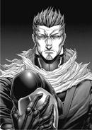 Shokichi without his helmet