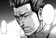 Shokichi crying over Nanao death