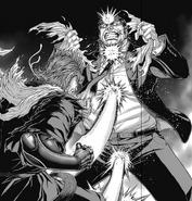 Shokichi punching Ichiro