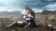 Nanao dying in Shokichi's hands