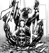 Shokichi stinging a Terraformar