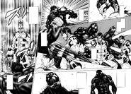 Shokichi sting-punching Terraformar to death
