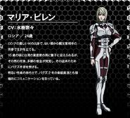Maria Viren OVA design