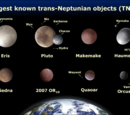 Dwarf planets become moons of the ice giants