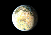 Terraformed io in jupiter orbit
