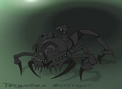 Targnilian destroyer by syrsa